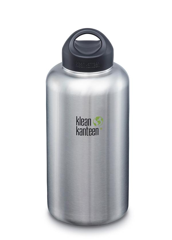 Klean Kanteen Stainless Wide Water Bottle - 27oz/40oz/64oz