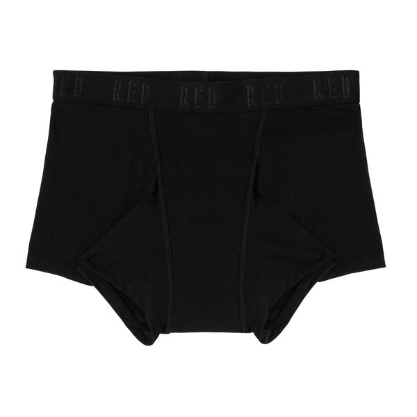 Red Hipster Boyshort (MODERATE - HEAVY Absorbency)