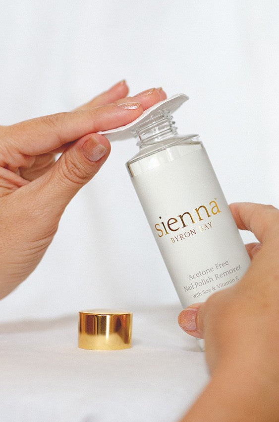 Sienna Acetone Free Nail Polish Remover