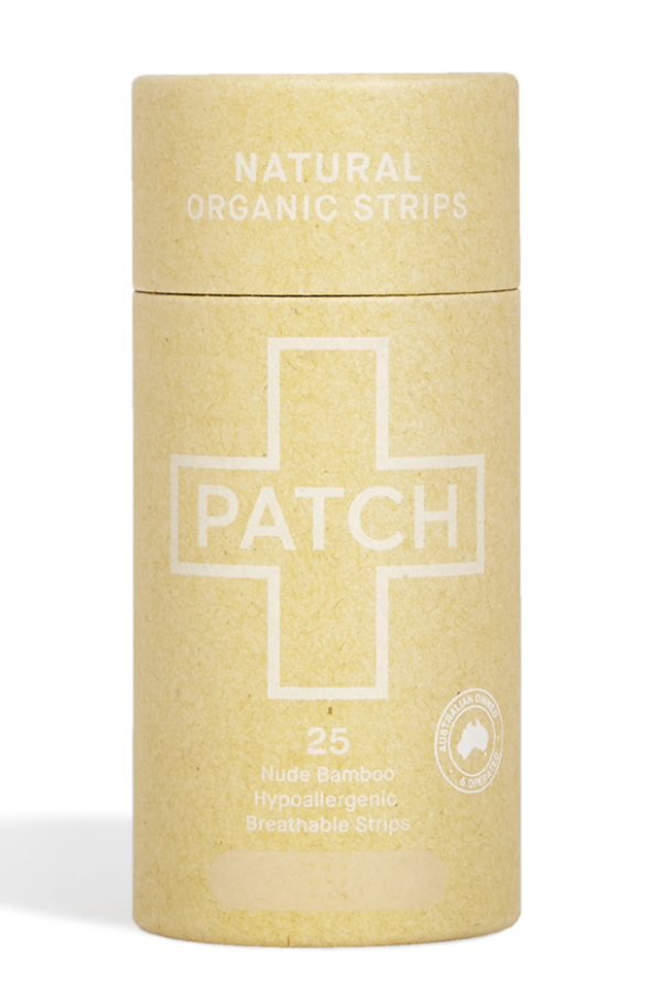PATCH Organic Bamboo Strips Plasters - Pack of 25