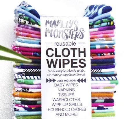 Cloth Wipes (12 Sheets)