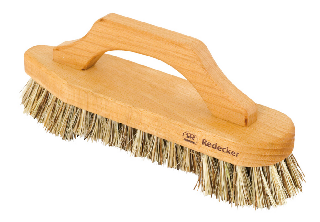 Scrub Brush with Bow-Shaped Handle