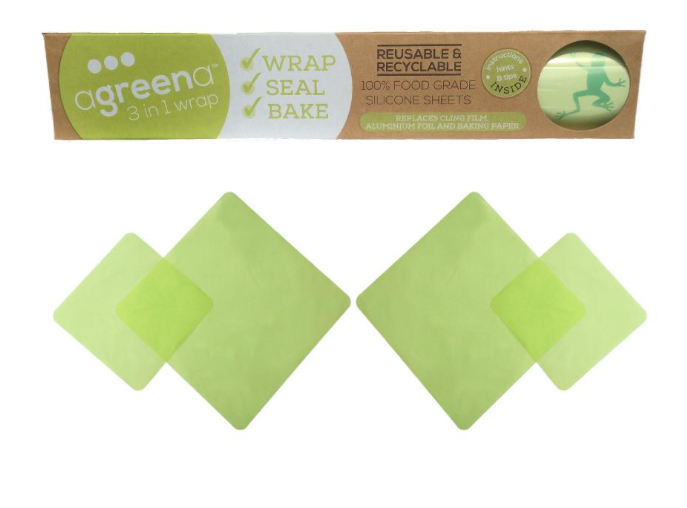 Agreena Silicone 3-in-1 Combo Wrap Pack
