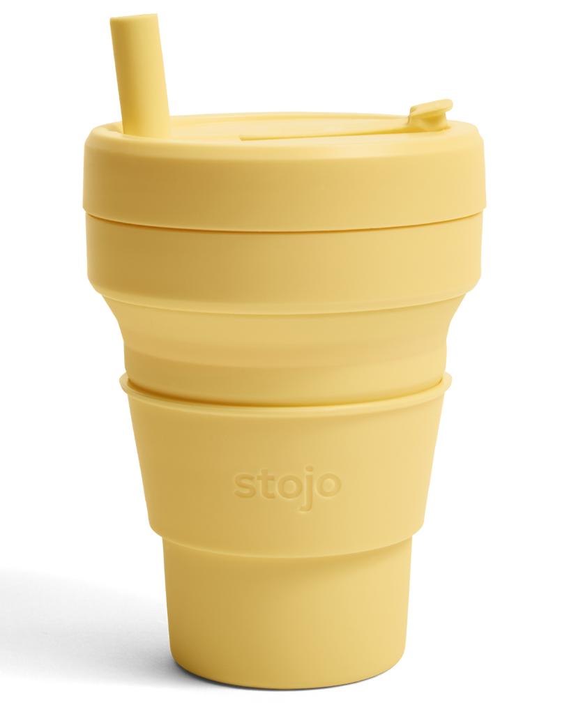 Stojo Biggie - Collapsible Cup 16oz/470ml (Multiple Colors)