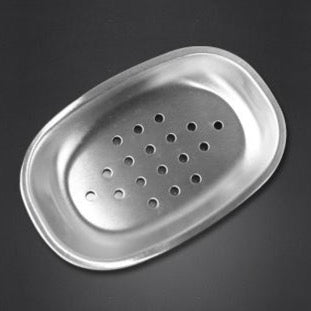 Stainless Steel Soap Dish with Strainer