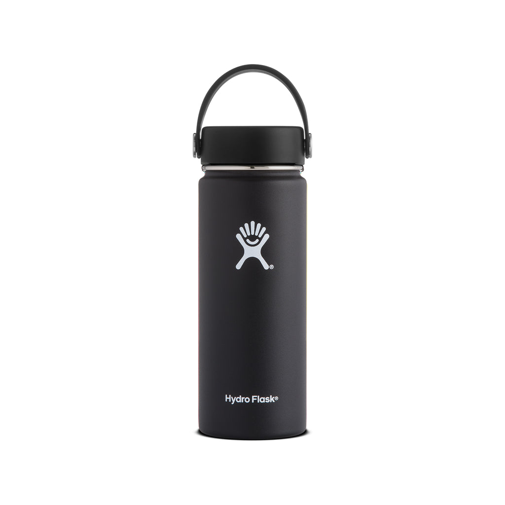 Hydro Flask Insulated Water Bottle Wide Mouth - 18oz (multiple colours)