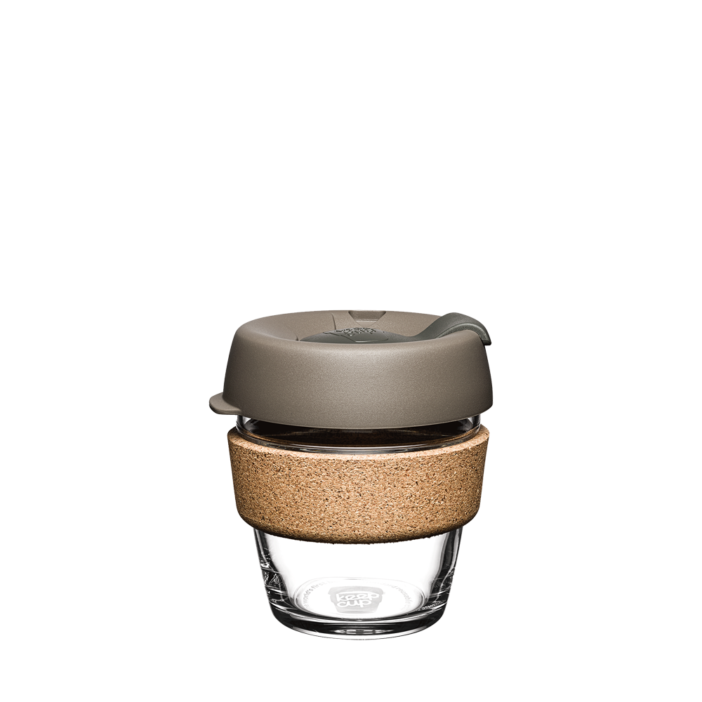 Latte Brew Cork KeepCup - 6oz/8oz/12oz/16oz