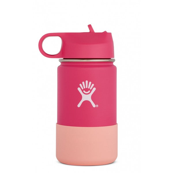 Hydro Flask Kids Insulated Water Bottle w/ Straw - 12oz (multiple colours)