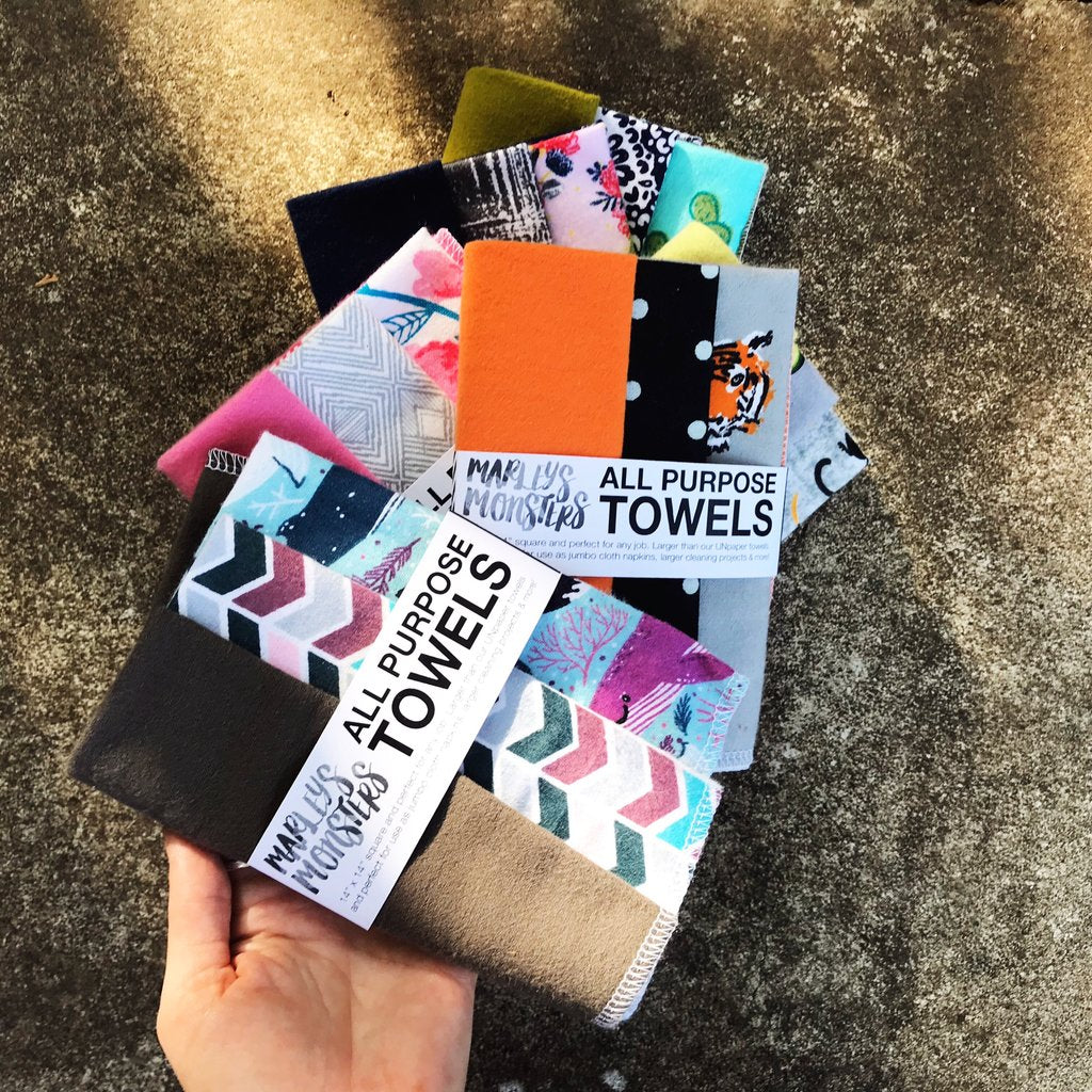 All Purpose Reusable Towels