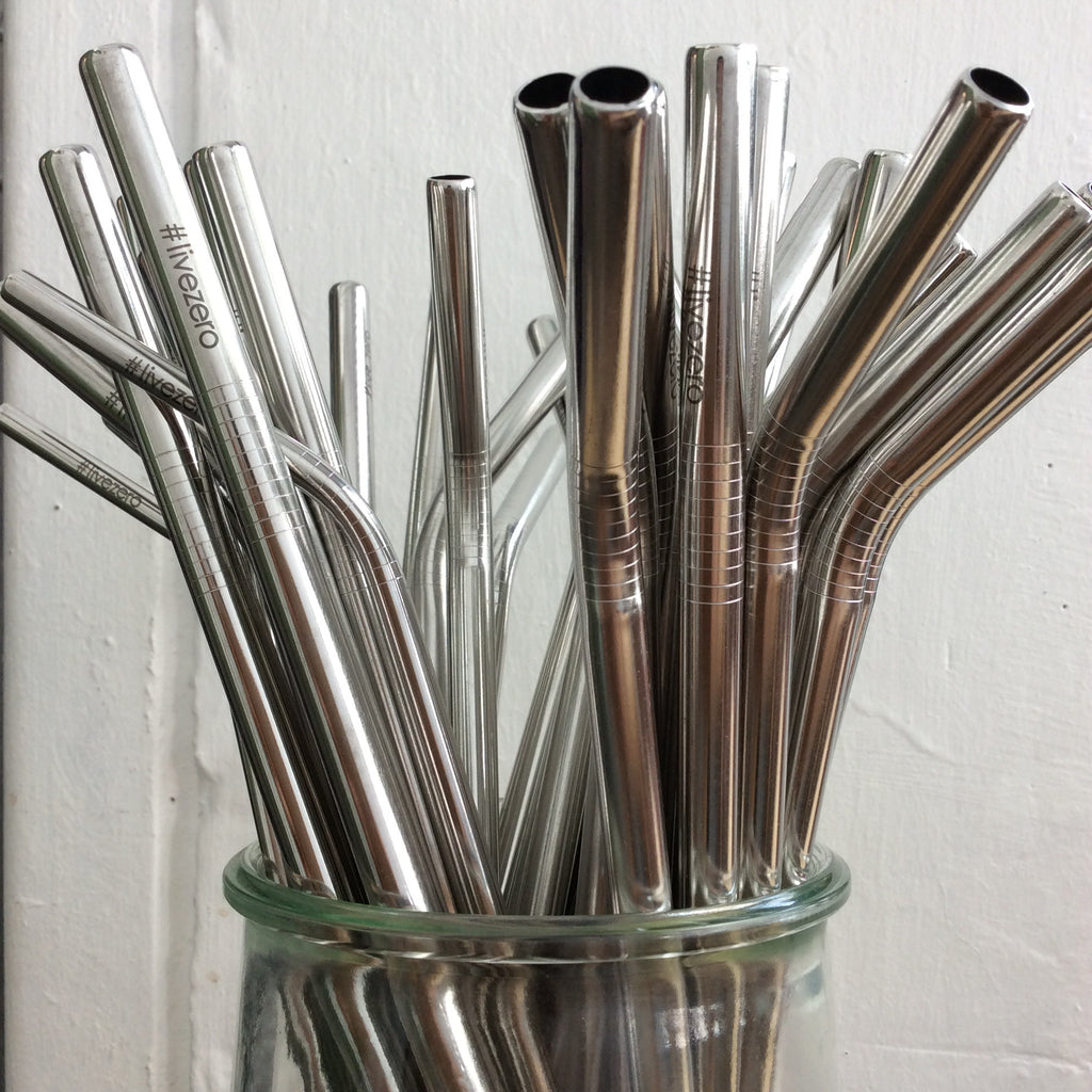 Stainless Steel Drinking Straw, Extra Tall