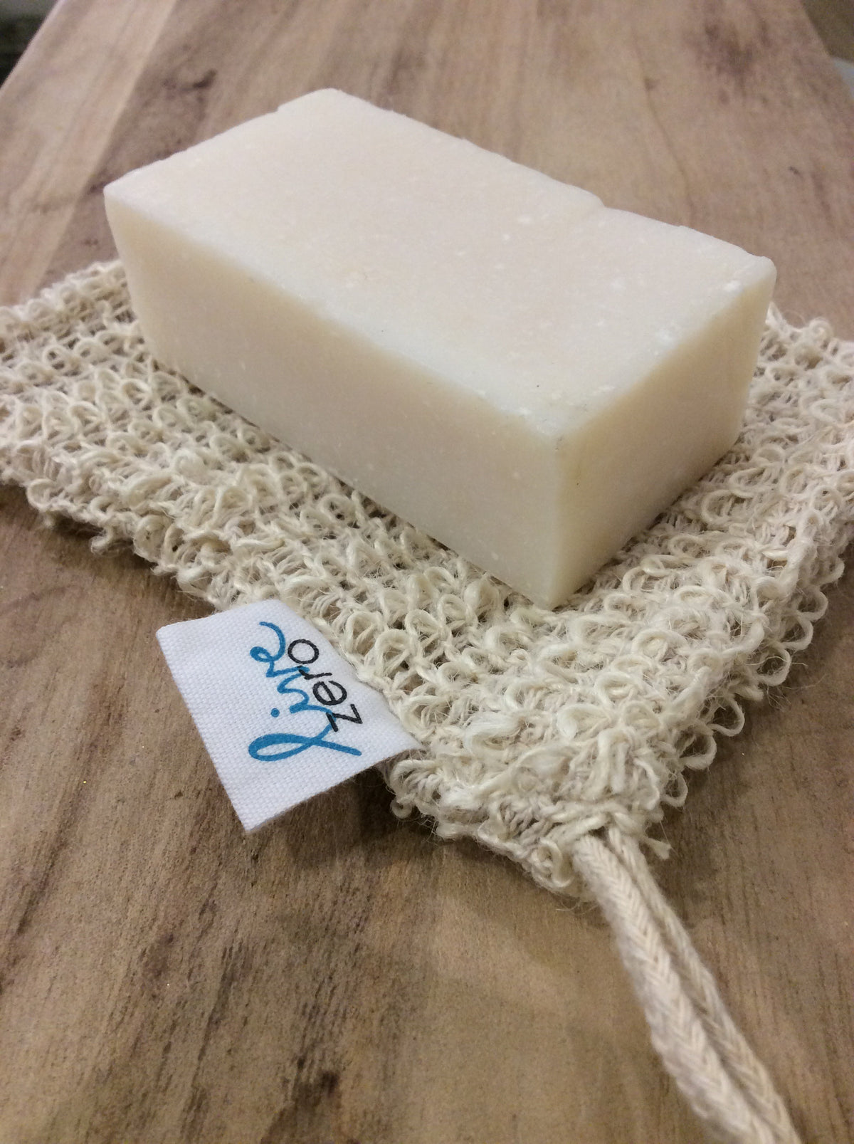 Sisal Soap Bag - Live Zero