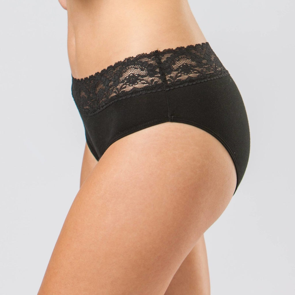 Sensual Hi-Waist Bikini (HEAVY - OVERNIGHT Absorbency)