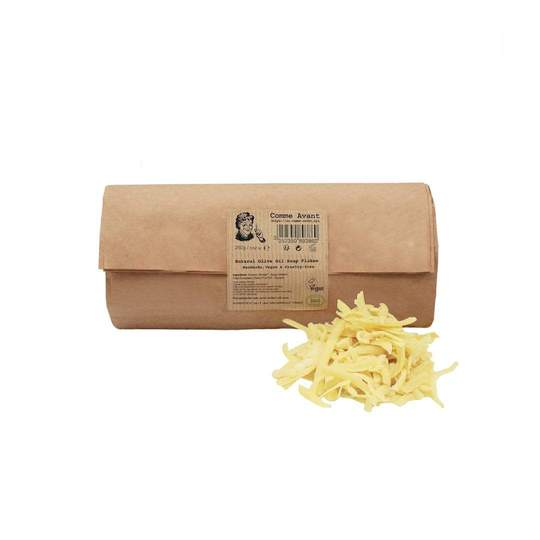Natural Olive Oil Soap Bar & Soap Flakes