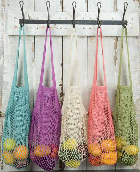 Ecobags String Bag Organic Cotton (Long Handle/Short Handle)