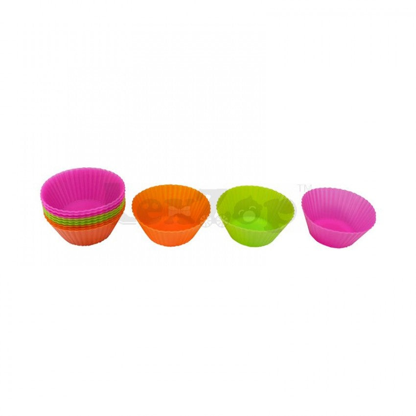 Silicone Mini Muffin Cake Cases (Set of 12pcs)