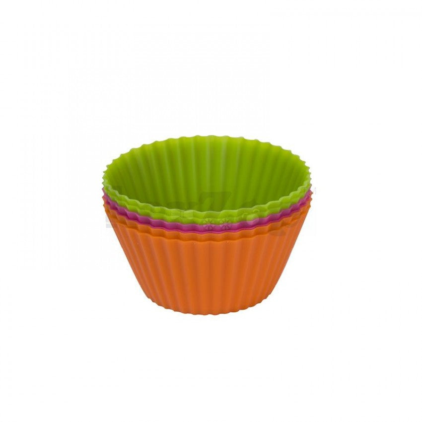 Silicone Regular Muffin Cake Cases (Set of 6pcs)