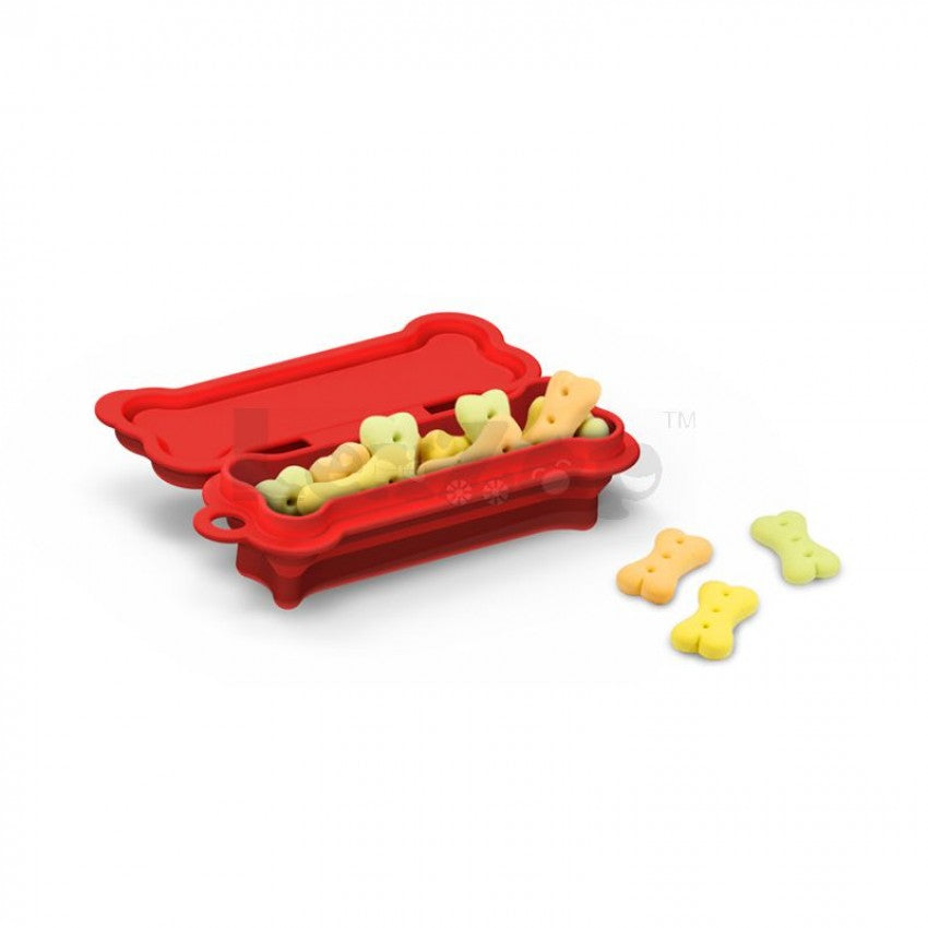 Silicone Collapsible Pet Snack Box