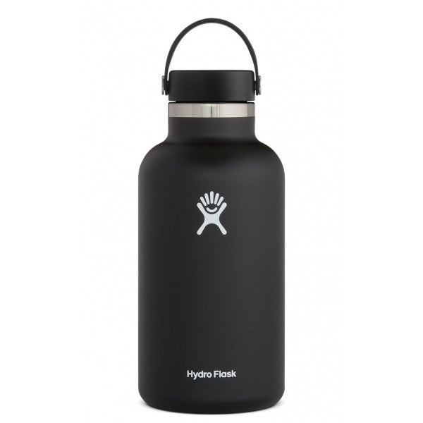 Hydro Flask Insulated Water Bottle Wide Mouth - 64oz (2 Colours)