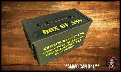Ammo Can M2A1 - Grill Your Ass Off