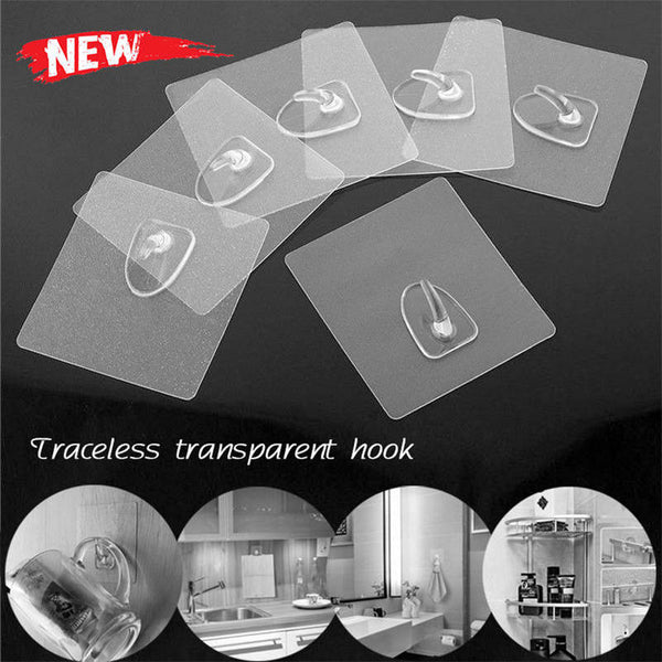 Reusable Anti-Skid Traceless Hooks