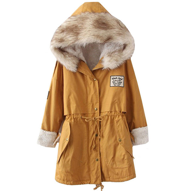 Honey Parka with Faux Fur Lining - That Mermaid Shop