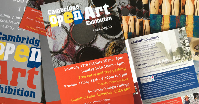 Cadsoft's brush with the Cambridge Open Art Exhibition