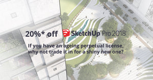 Trade in your old SketchUp License for a new one!