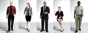 DOSCH 3D 3D-People - Business - People in Motion for C4D