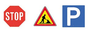 DOSCH 2D Viz Images Road Signs - Europe