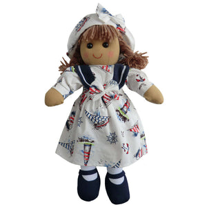 Nautical 40cm Rag Doll