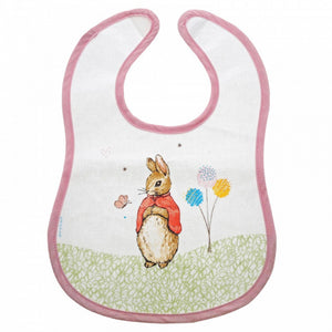 Peter Rabbit Flopsy Bunny Wipeable Bib