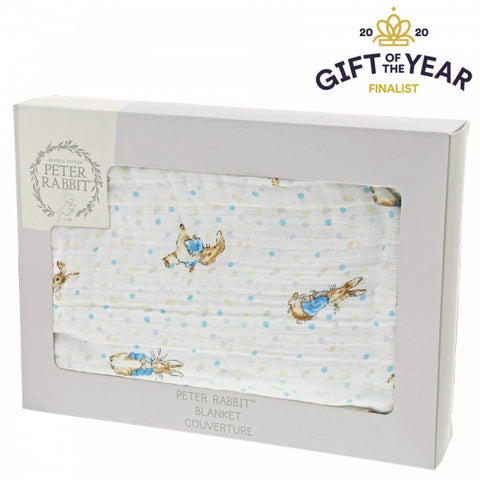 Peter Rabbit Cotton Blanket