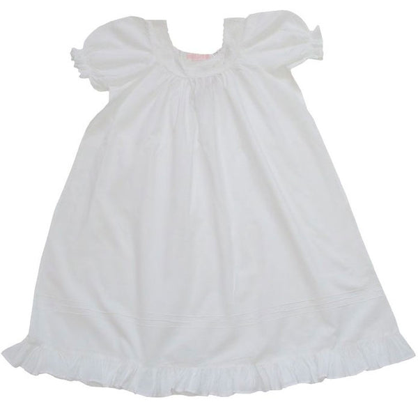 Powell Craft White Lace Trimmed Nightdress