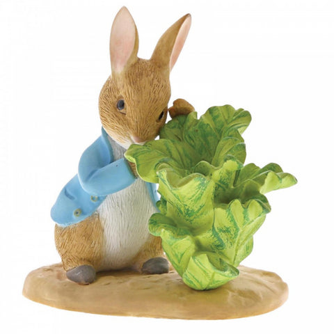 Peter Rabbit Figurine Peter With Lettuce