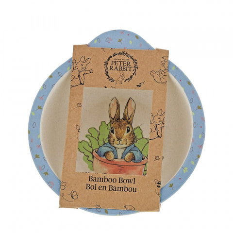Peter Rabbit Bamboo Bowl