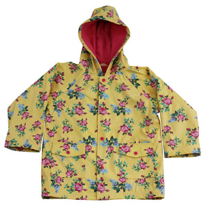 Powell Craft Lemon Floral Raincoat