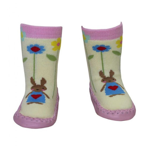 Bunny Moccasin Slippers