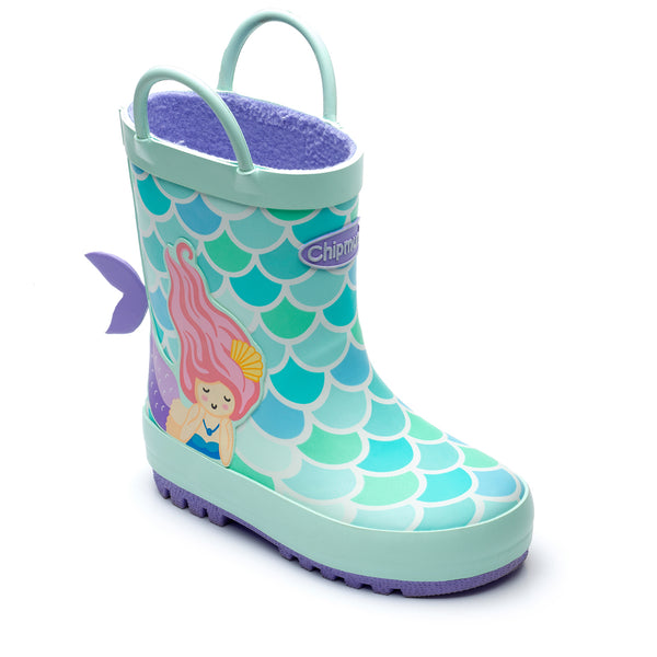Chipmunks Mermaid Children's Wellies