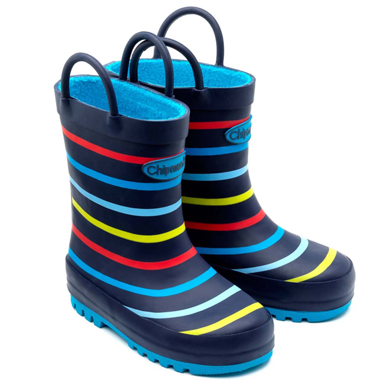 Chipmunks Multi Stripe Children's Wellies
