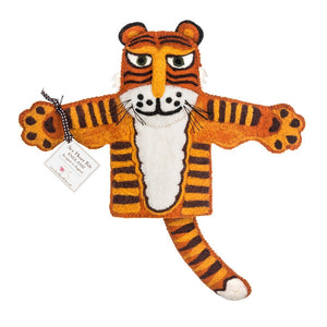 Sew Heart Felt Raj The Tiger Hand Puppet