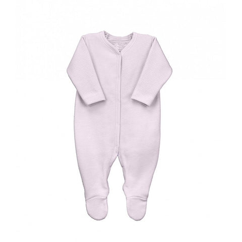 Rapife Ribbed White Footed Sleepsuit