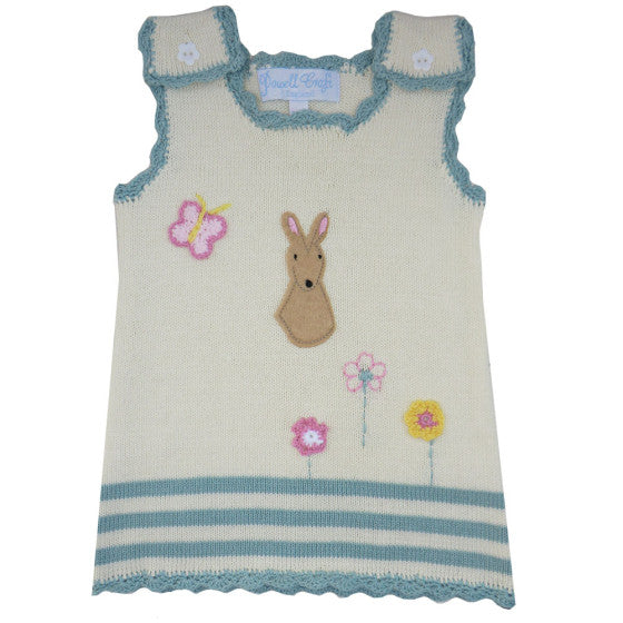 Powell Craft Knitted Bunny Dress