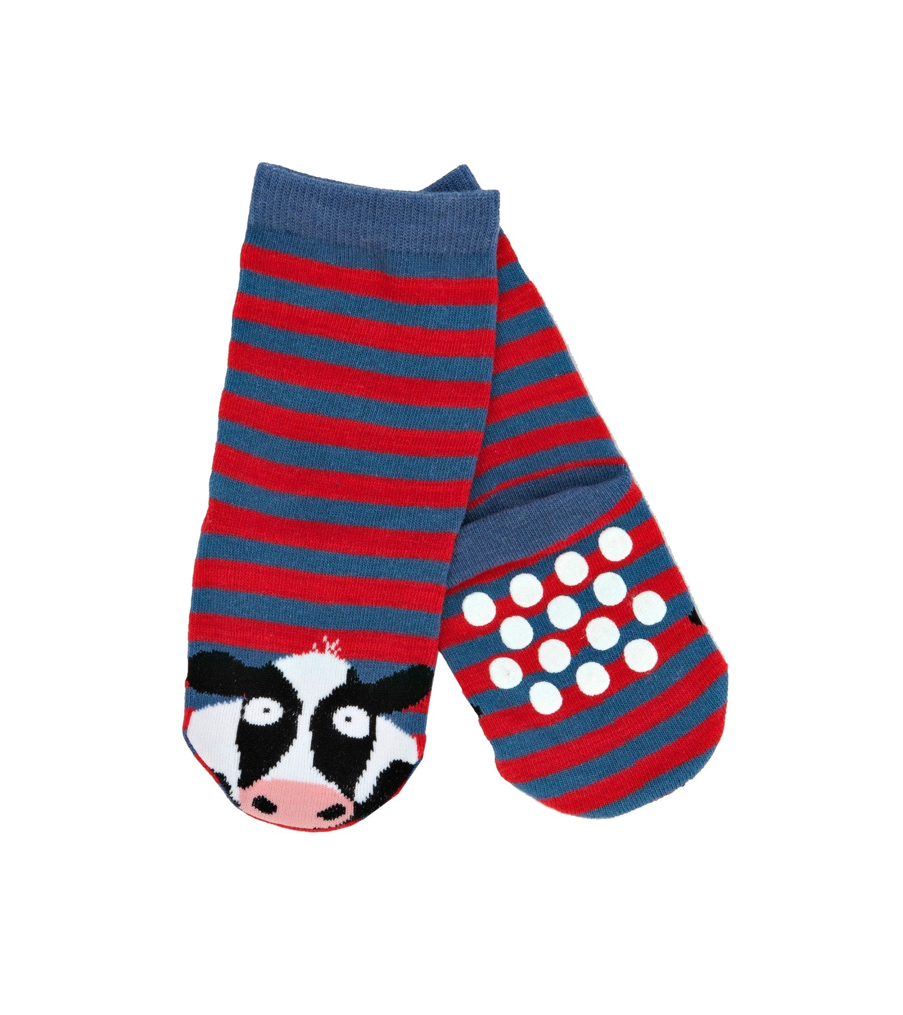 Little Blue House Hatley Red Cow Socks