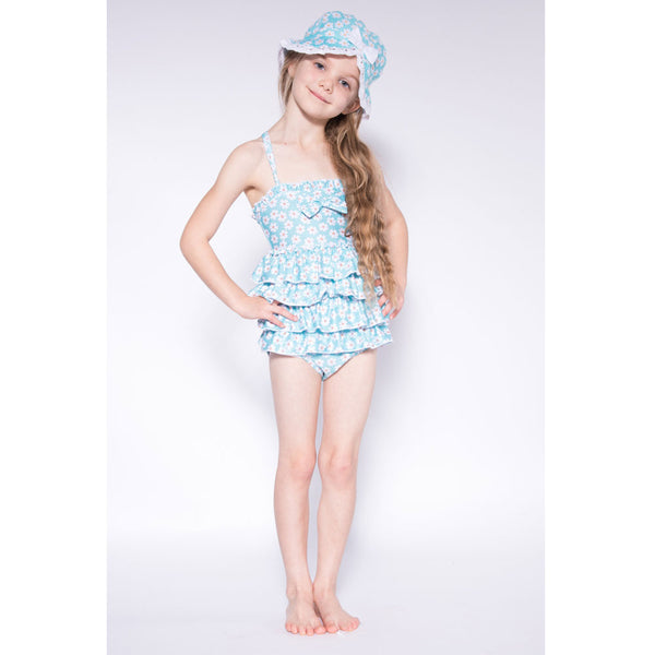 Powell Craft Daisy Floral Swimsuit