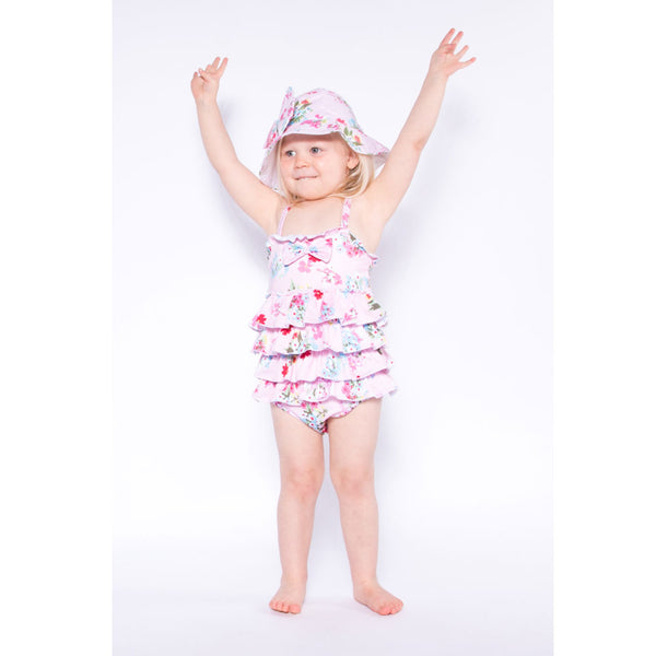 Powell Craft Pink Floral Swimsuit