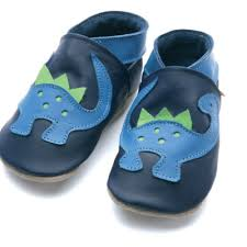 Starchild Dinosaur Leather Baby Shoes