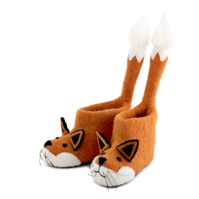 Sew Heart Felt Finlay Fox Slippers