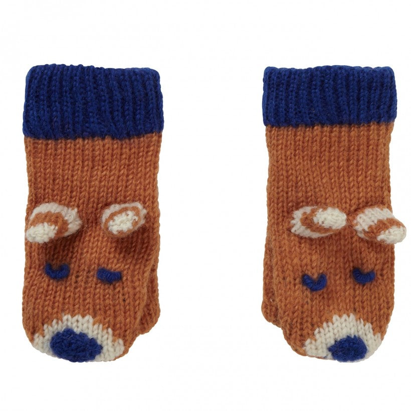 Piccalilly Ginger Fox Mittens