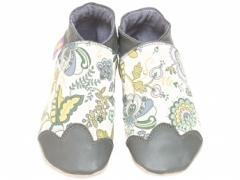 Starchild Liberty Mabelle Grey Baby Shoes