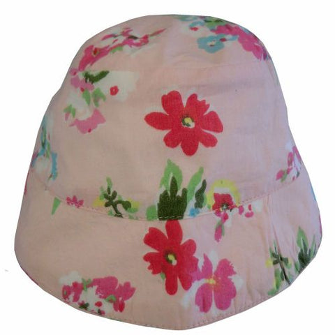 Powell Craft Pink Floral Sun Hat